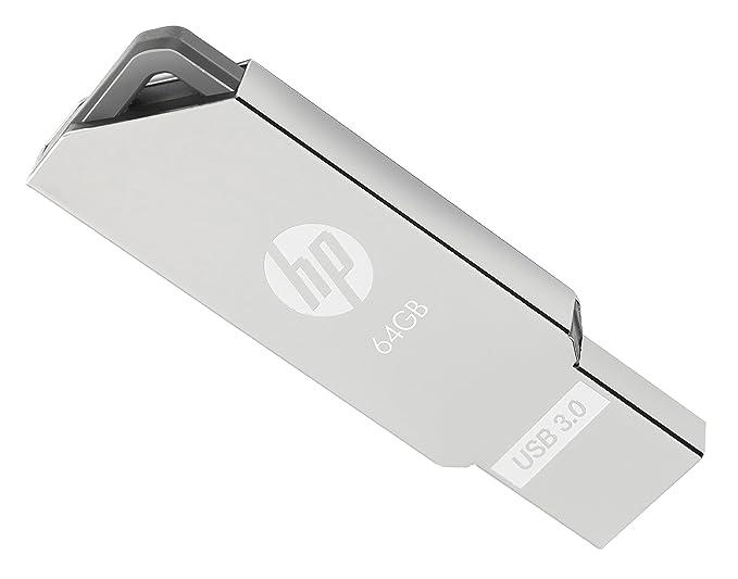 HP x720w 16GB 32GB 64GB USB 3.0 Flash Drive Memory Metal Housing Silver