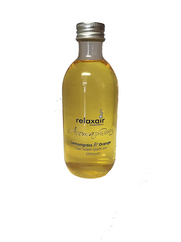 Whirlpool Spa Jacuzzi Bath Low Foam Bath Oil - Lemongrass & Orange ...