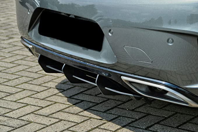 Cup Diffuser Attachment Black Matt Unpainted Compatible For Insignia B Gsi Rear Apron Rear Splitter Rear Diffuser Rear Abs With Abe Certified Auto