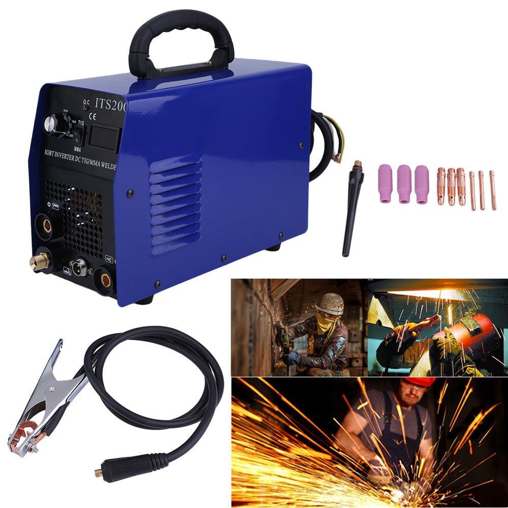 Tsi200 IGBT Cortadora de plasma , Inversor de aire, Equipos de soldadura eléctrico, 5.5 KVA: Amazon.es: Bricolaje y herramientas