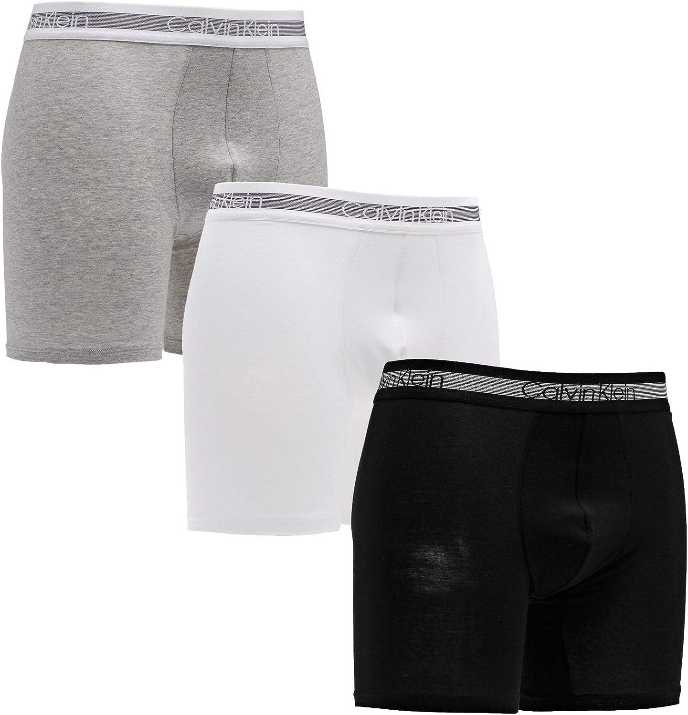 Calvin Klein de los Hombres Pack de 3 Calzoncillos Boxer de refrigeración, Multicolor: Amazon.es: Ropa y accesorios