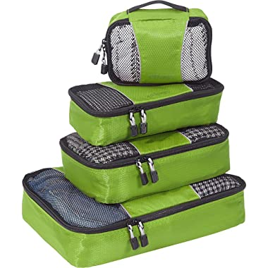 eBags Packing Cubes - 4pc Small/Med Set (Grasshopper)