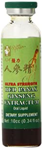 Prince of Peace Red Panax Ginseng Extractum Ultra Strength Supplement, 30 Count