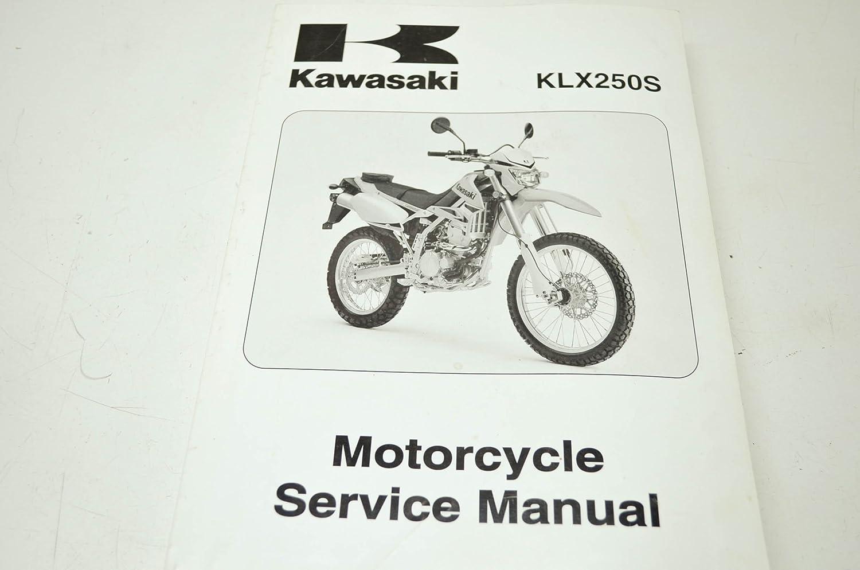 Amazon.com: Kawasaki 99924-1393-01 KLX250S Service Manual QTY 1: Automotive