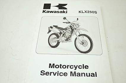 1999-2006 kawasaki klx250 service manual supplement.