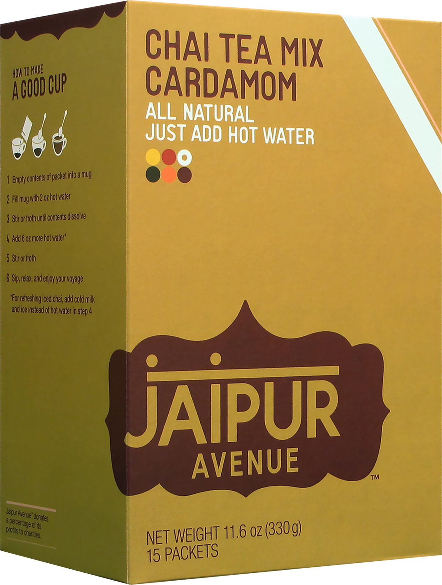 Jaipur Avenue Chai Tea Mix Cardamom