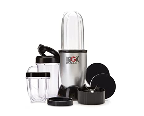Amazon magic bullet blender small silver 11 piece set magic bullet blender small silver 11 piece set fandeluxe Images