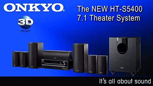 Amazon com: Onkyo HT-S5400 7 1-Channel Home Theater System