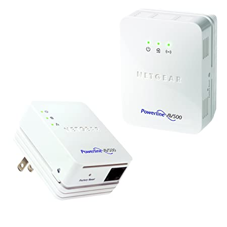NETGEAR XWNB5201 Powerline 500Mbps to N300 Wi-Fi Access Point Wireless Access Points at amazon