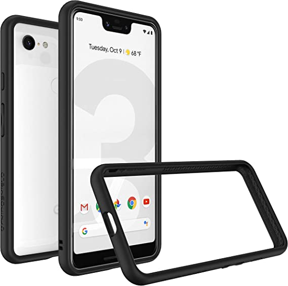 - Blush Pink 3.5M // 11ft Drop Protection | CrashGuard RhinoShield Bumper Case Compatible with Google Shock Absorbent Slim Design Protective Cover Pixel 3 XL