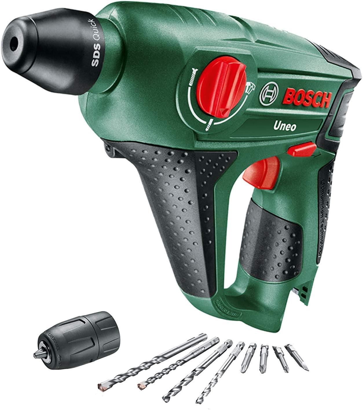 Bosch Mehrzweck Bohrer SDS-Quick für Uneo Akku Bohrhammer von 4-10mm Holz Metall