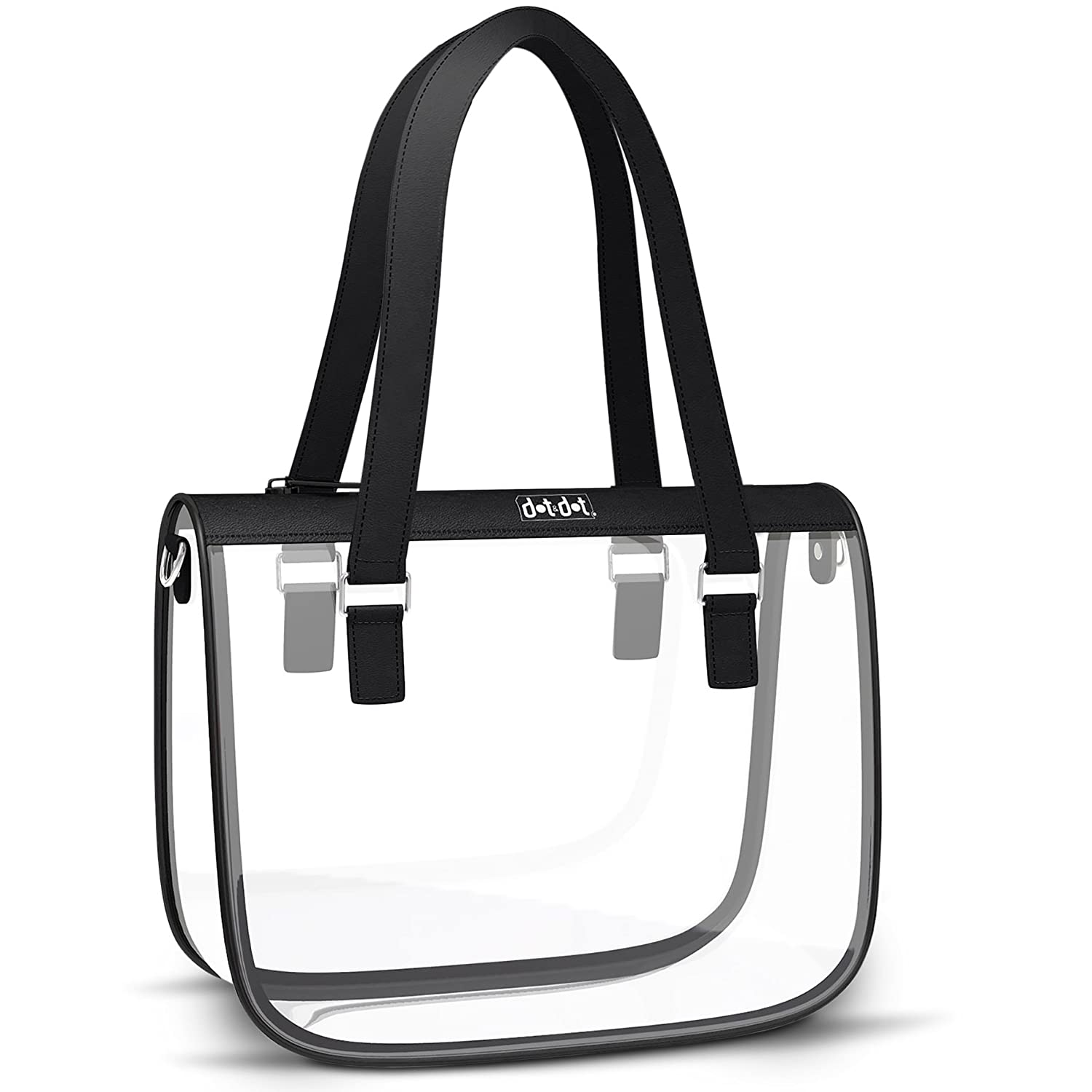 Amazon.com  Stylish Clear Bag for Women - PGA and NFL Stadium Approved  Transparent Purse for Football Games 37b4a4ac8bb6a
