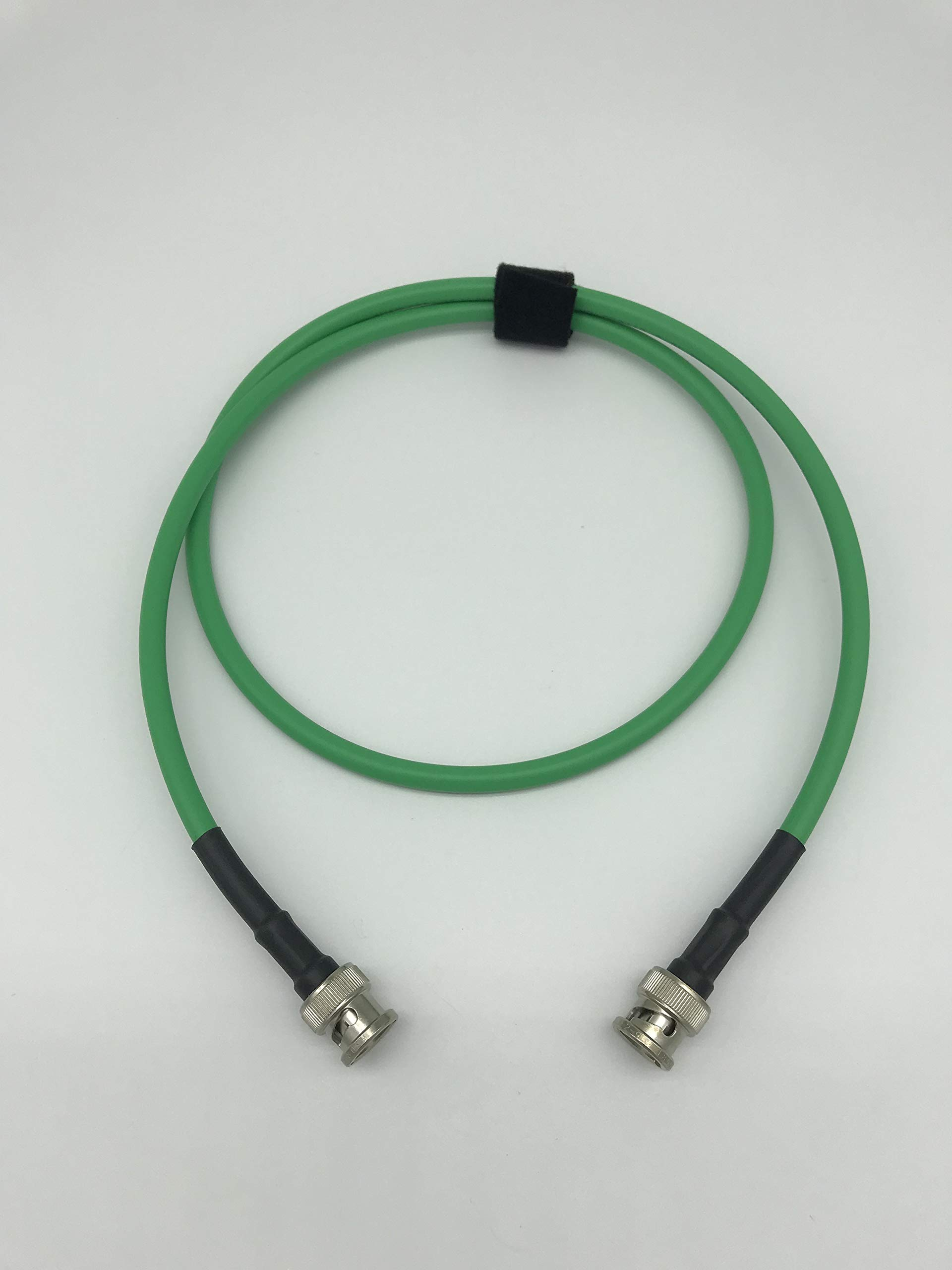AV-Cables 3G/6G HD SDI BNC RG59 Cable Belden 1505A - Green (75ft)