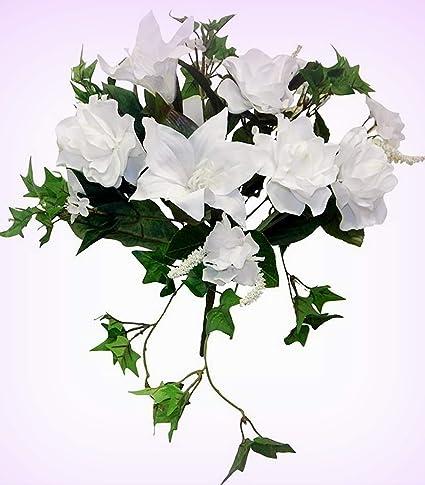 Amazon Inna Wholesale Art Crafts New White Gardenia Tiger Lily