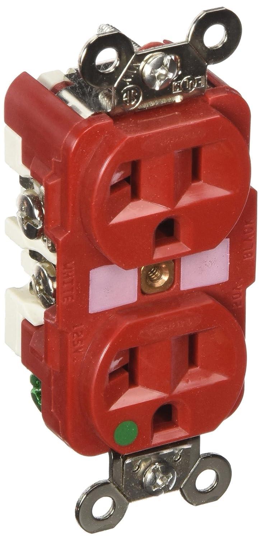 Fabulous Hubbell Wiring Hbl8300R Hospital Grade Heavy Duty Duplex Receptacle Wiring Database Gentotyuccorg