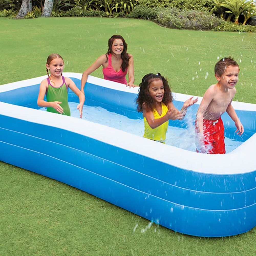 Intex Swim Center Family 72 x 120 Inch Swimming Pool and Quick Fill Air Pump by Intex (Image #6)