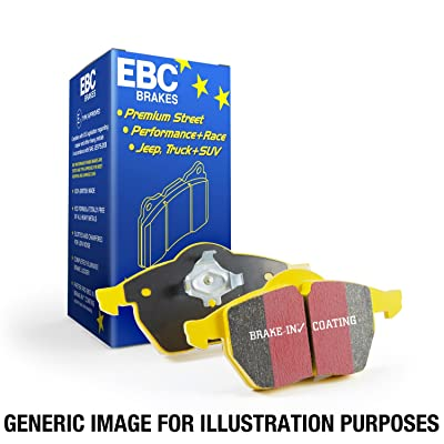 EBC Brakes DP4680R Yellowstuff Street and Track Brake Pad: Automotive