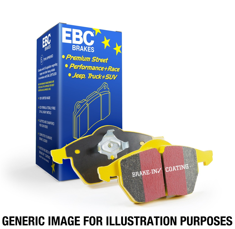 EBC Brakes DP41255R Yellowstuff Street and Track Brake Pad