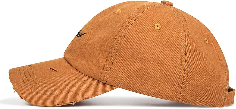 Dal-Msee Women Baseball Cap Solid Color Embroidery Men Baseball Caps Neutral Hip-Hop Cap Outdoor Sports Baseball Hat