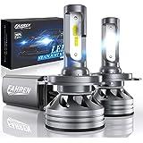 Fahren H4/9003/HB2 LED Headlight Bulbs, 60W 12000 Lumens Super Bright LED Headlights Conversion Kit 6500K Cool White…