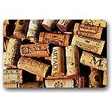 Custom printed rugs dm 11 celestial door mat for Wine cork welcome mat