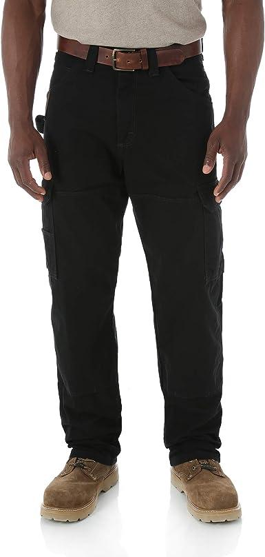 Amazon Com Wrangler Riggs Workwear Pantalones Ranger Para Hombres 29 Cintura X 30 Largo Negro Clothing