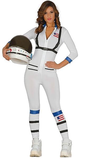 Guirca- Disfraz adulta astronauta, Talla 38-44 (84394.0)