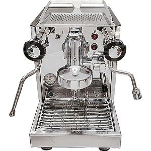 Quickmill Rubino Nero Modell 0981 Espresso-Siebträgermaschine