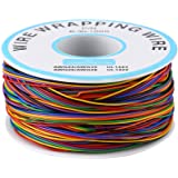 280m 8 Fils 30AWG Rouleau de Câble Electrique de Cuivre Etamé Isolant en PVC P/N B-30-1000