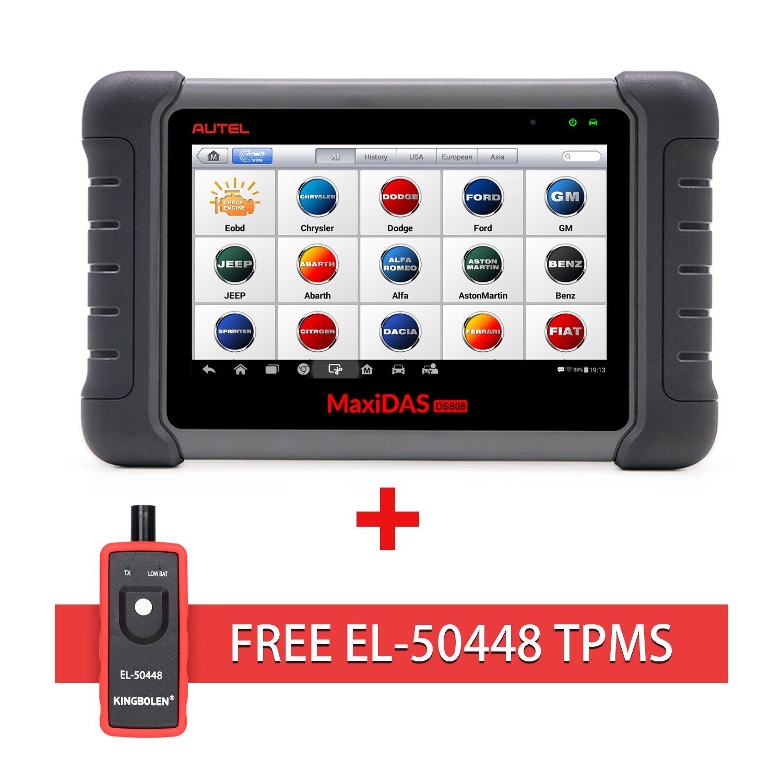Bi Directional Scan Tool >> Autel Maxidas Ds808 Bi Directional Automotive Obd2 Scanner Diagnostic Tool Key Fob Programming Ecu Coding Abs Bleeding Brake Reset Functions