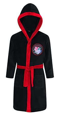 Warner Bros Official Harry Potter Hogwarts Houses Dressing Gown  Amazon.co. uk  Clothing d46bbcfcf