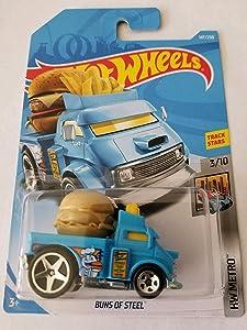 Hot Wheels 2019 Hw Metro 3/10 - Buns of Steel (Light Blue)