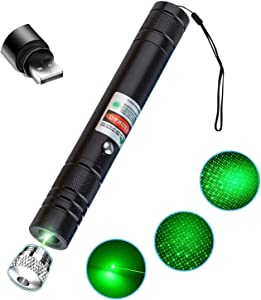 Long Range Pointer with USB Charging, Suitable for Night Outdoor Work