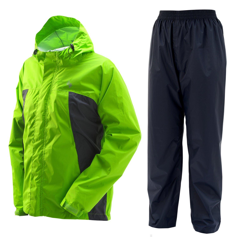 プレイン AAAパーフェクトレインスーツ 全6色 全4サイズ 上下スーツ アレキサンドリア M 防水透湿 収納袋付き #01777-ALX-M B010P6HJ6G Medium Medium