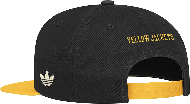 One Size Fits All,Yellow//Black NCAA Georgia Tech Mascot Snapback Hat
