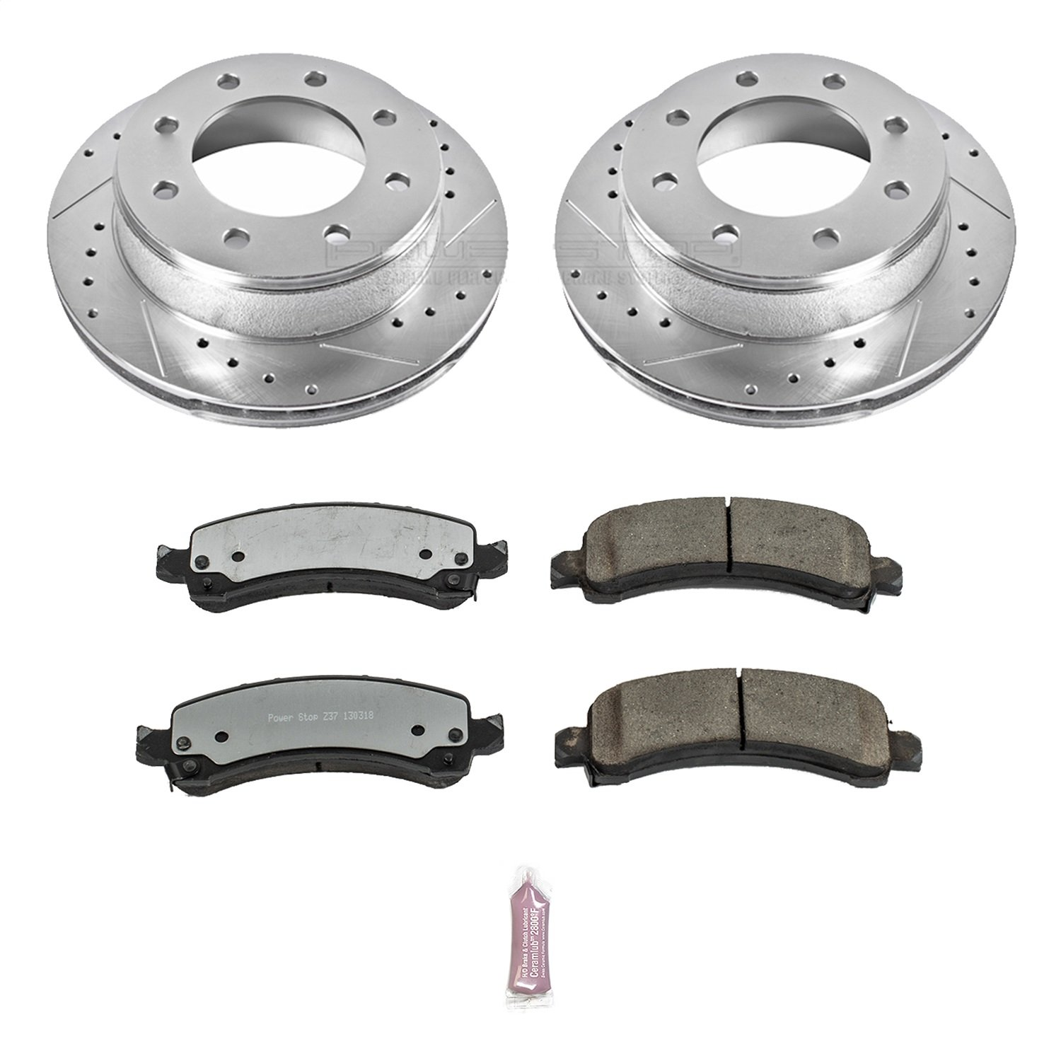 Power Stop K6251-37 Z37 Top Cop 1-Click Brake Kit by POWERSTOP