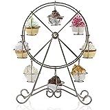 Ferris Wheel Cupcake Holder Color: Shiny Silver