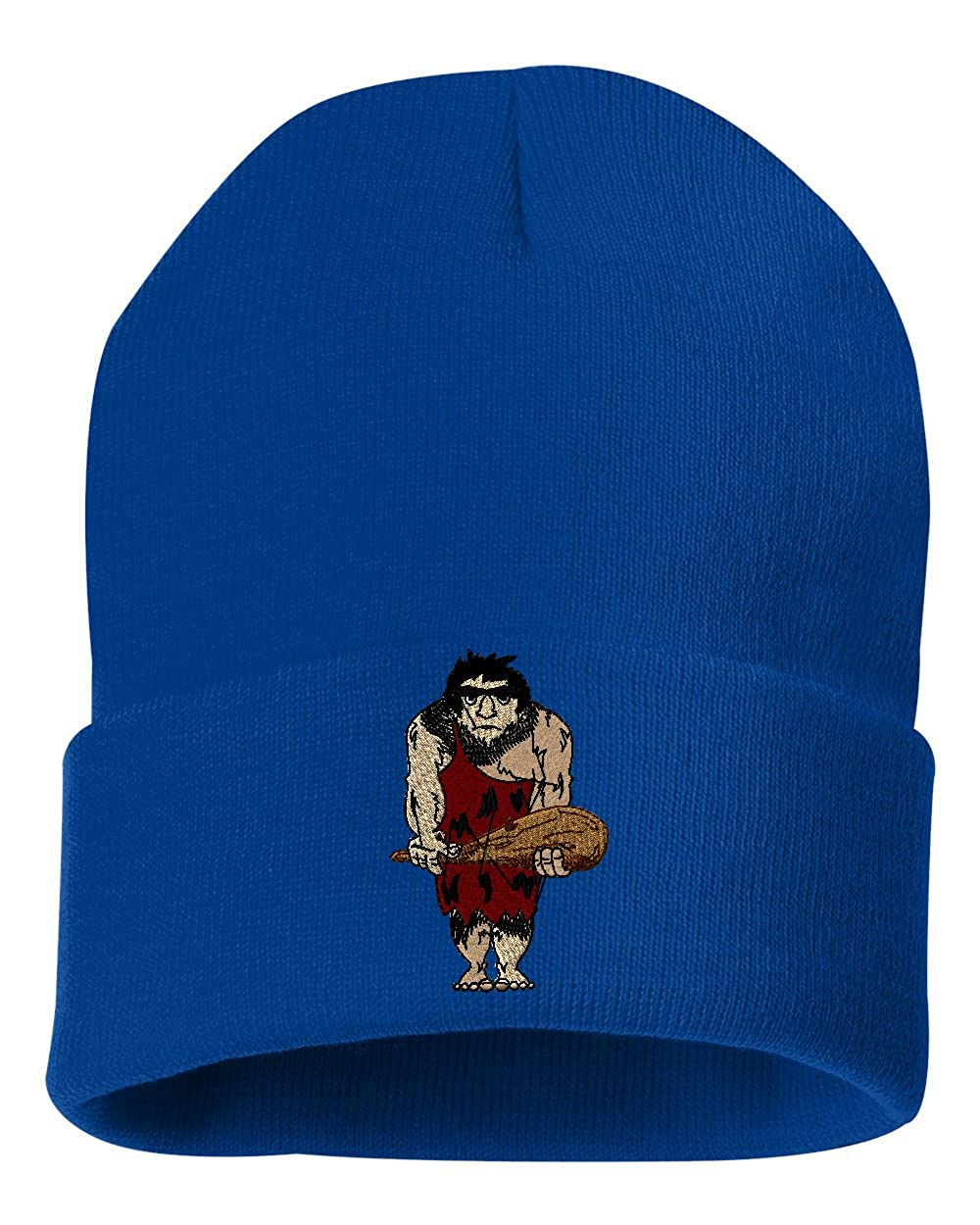Caveman/  Custom Personalized Embroidery Embroidered Beanie