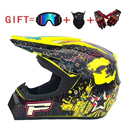 LEENY Casco de Motocross, Casco de MTB Ciclismo Cross ...