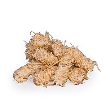 rela xfair bio Barbacoa Cigarrillos Chimenea de cigarrillos de madera lana/1 kg de 2