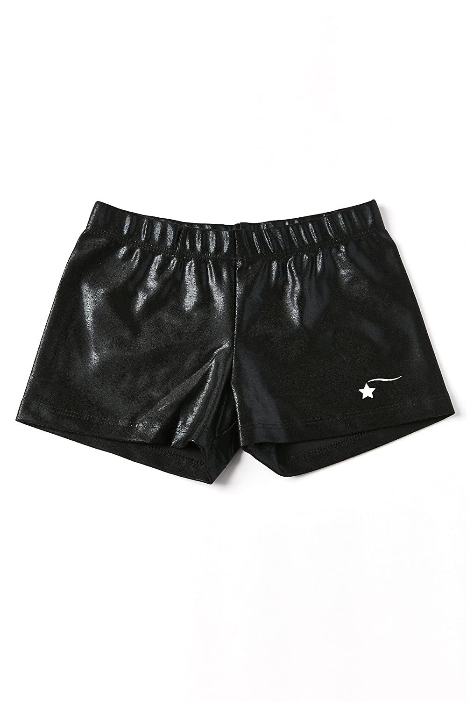 DESTIRA Gymnastics or Cheer Sport Shorts for Girls, Child XXS-JR