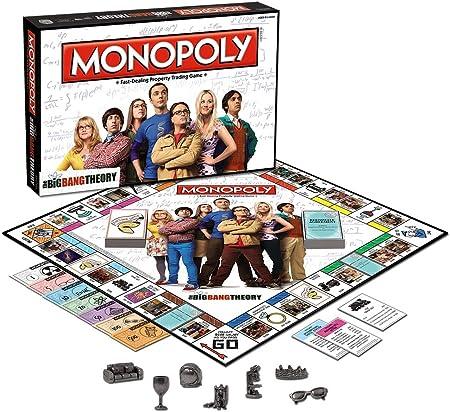 Monopoly: The Big Bang Theory: USAopoly: Amazon.es: Oficina y papelería