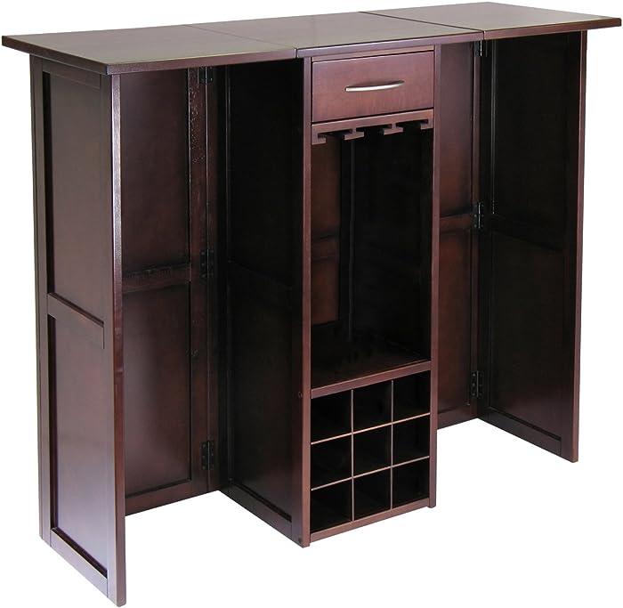 Winsome 94350 Newport Wine Storage, Walnut