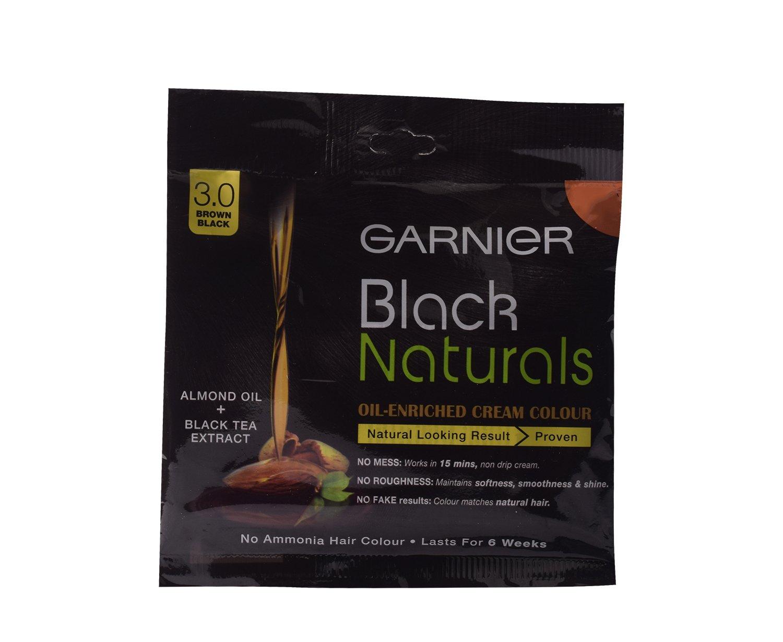 Buy Garnier Hair Color 30 Brown Black 20g Pack Online At Low