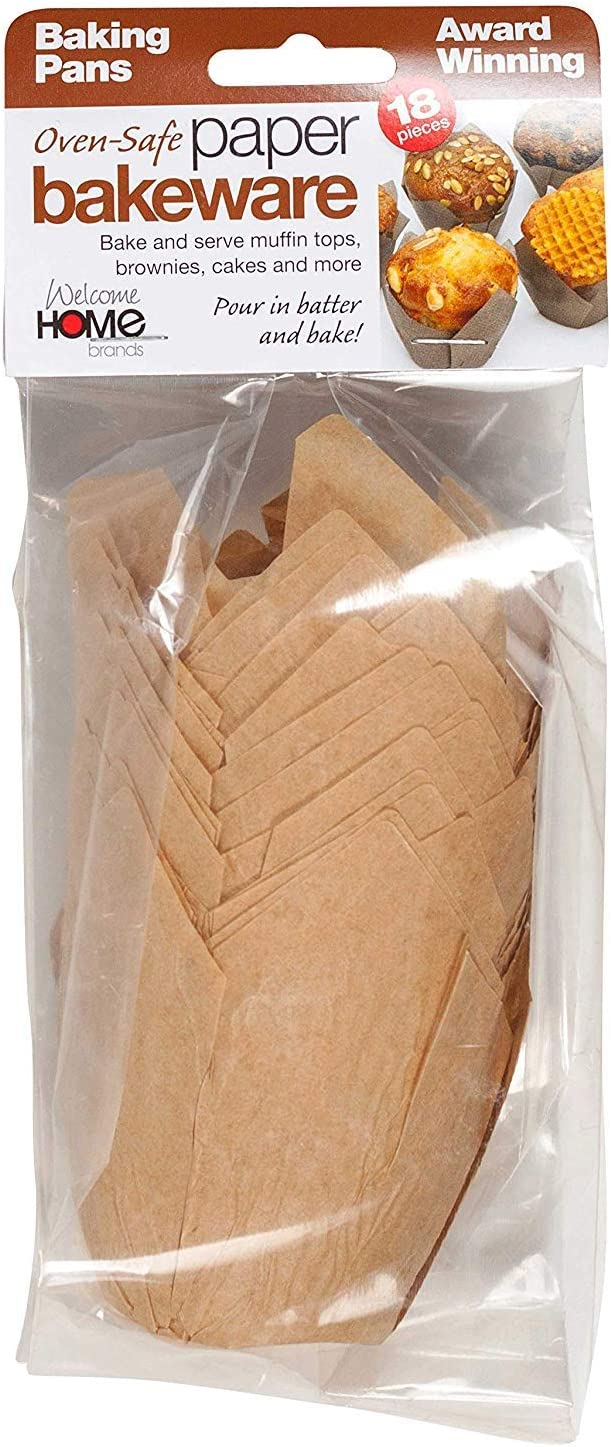 Welcome Home Brands, Baking Cups Tulip 18 Count