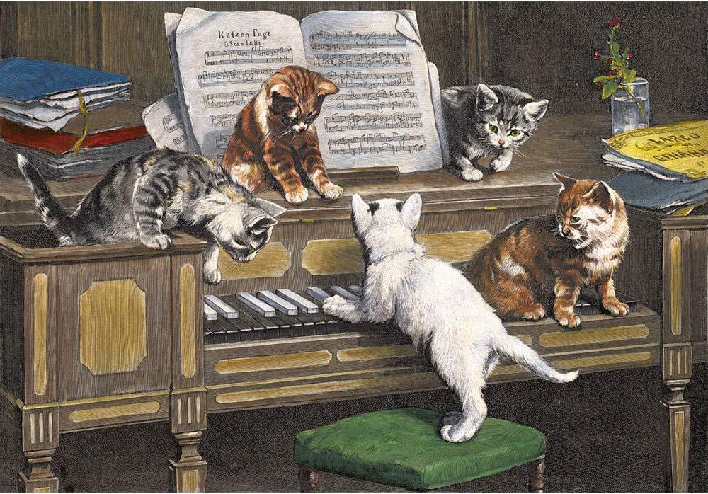 Playful Cats German Christmas Advent Calendar Brück & Sohn