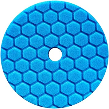 Chemical Guys Hex-Logic FINISHING DETAILING PAD for Wax//Sealant Black 5.5-inch