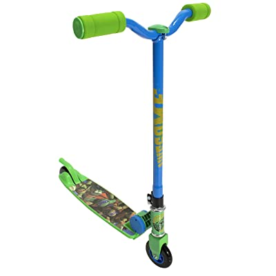PlayWheels Teenage Mutant Ninja Turtles 2-Wheel Folding Scooter: Toys & Games
