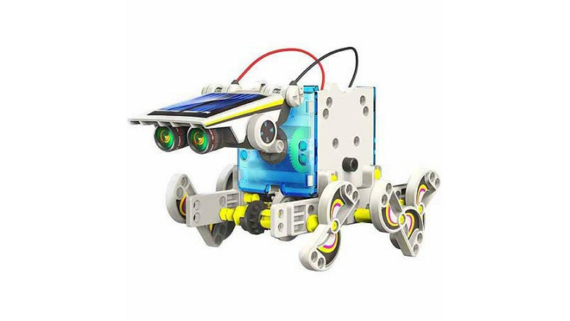 OWI Robotikits 14-in-1 Educational Solar Robot Kit Set of 2 by Elenco* (Image #2)