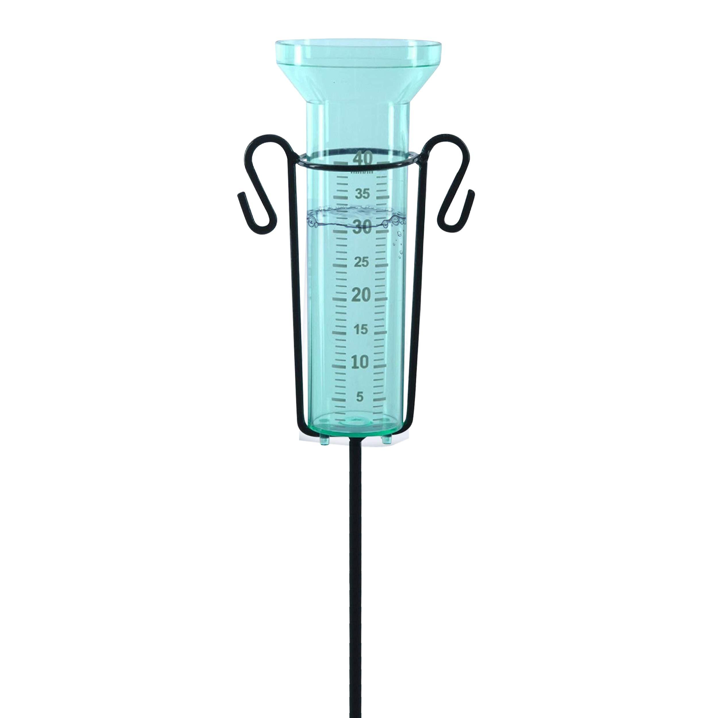 Regenmesser Halterung Wasser Boden Garten Einfach Messwerkzeug langlebig